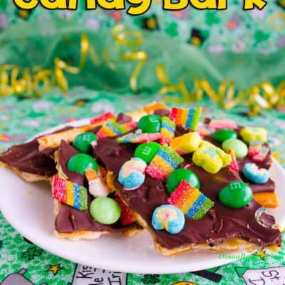 St. Patrick's Day Candy Bark