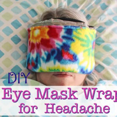 DIY Ice Pack Eye Mask