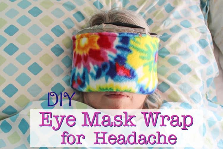 DIY Ice Pack Eye Mask
