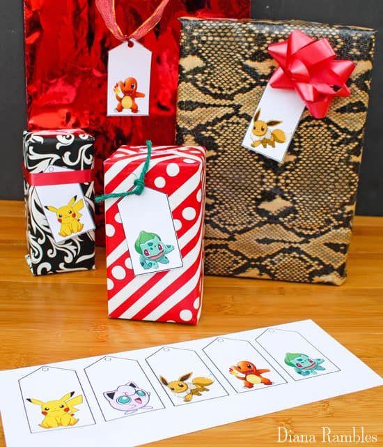 Anyway, I hope you enjoy these Pokemon Gift Tags. Just download, print, and cut and they are ready to use. You can get the Christmas Pokemon Gift Tags here ...