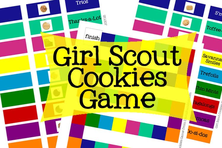 Girl Scout Cookies Game Printable