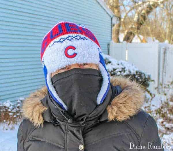 Quick DIY Ski Mask