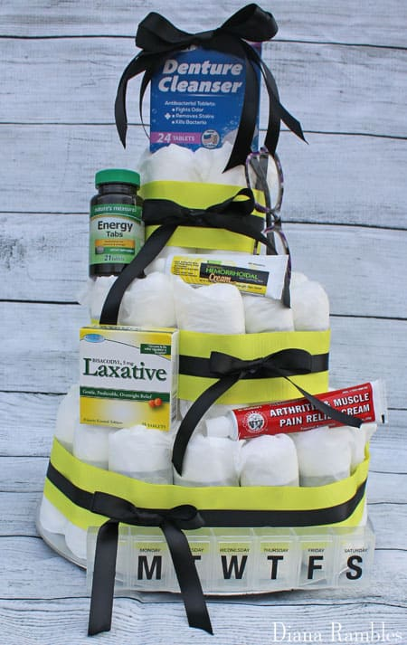 3-Tier Adult Diaper Cake