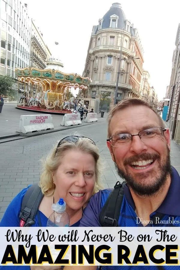 I'll Never Be on The Amazing Race! - Want to be on The Amazing Race Reality TV Show? Read about our travel experience in Europe and why I will never apply for Amazing Race.