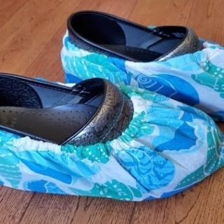 How To Make Your Own Diy Shoe Covers Sewing Tutorial