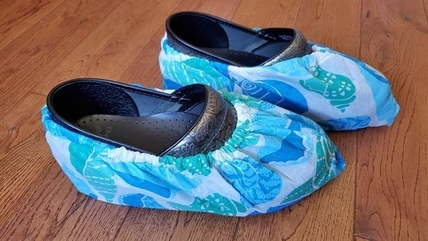 DIY Shoe Covers